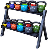 Body-Solid Dual Dumbbell & Kettlebell Rack - Fitness Trendz USA