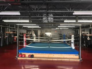 Fitness Trendz Boxing Ring 16' x 16' with 4 Corner Post Speed Bag Stations - Fitness Trendz USA