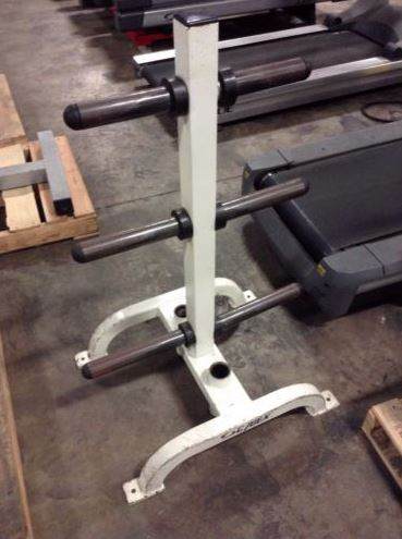 Cybex Weight Plate Tree with 2 Bar Holders - Fitness Trendz USA