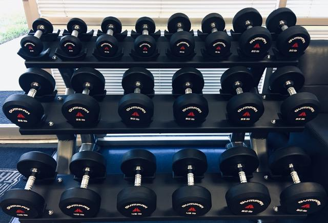 Fitness Trendz USA Round Rubber Dumbbell Sets - Fitness Trendz USA