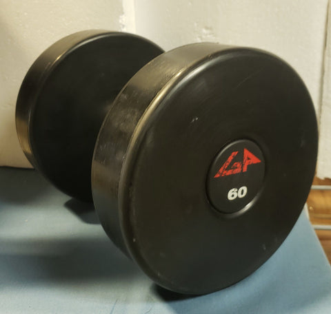 American Barbell GP Urethane Round Solid Steel Center Dumbbells - Fitness Trendz USA