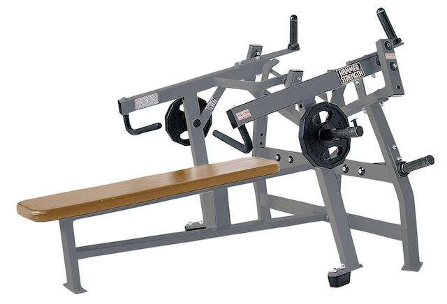 Hammer Strength Horizontal Bench Press - Fitness Trendz USA
