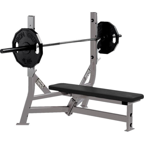 Hammer Strength Olympic Flat Bench - Fitness Trendz USA