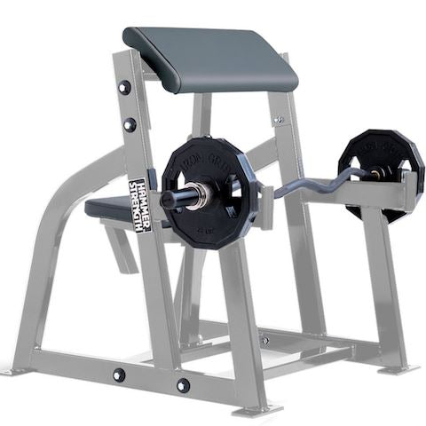 Hammer Strength Seated Arm Curl - Fitness Trendz USA