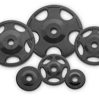 Hampton Fitness Olympic Urethane Grip Plates - Fitness Trendz USA