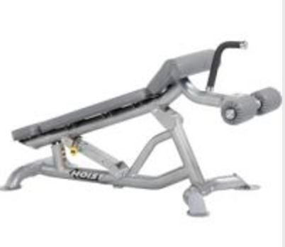 Hoist Adjustable Flat Decline Bench - Fitness Trendz USA