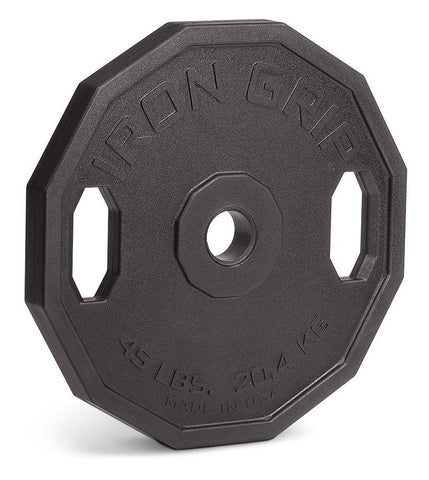 Iron Company Urethane Encased Olympic Plates – Iron Grip - Fitness Trendz USA