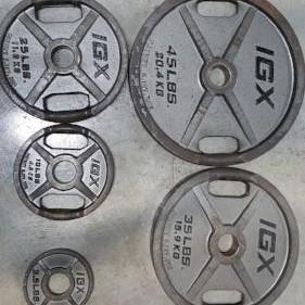 Iron Grip Barbell IGX Steel Grip Plates - Fitness Trendz USA