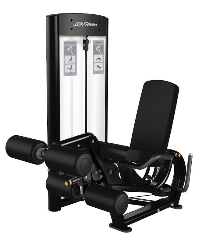Life Fitness Optima Leg Extension/Leg Curl Dual Function Machine - Fitness Trendz USA