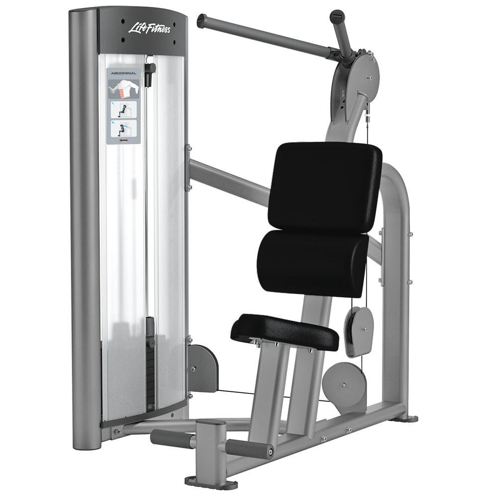 Life Fitness Optima Series Abdominal - Fitness Trendz USA