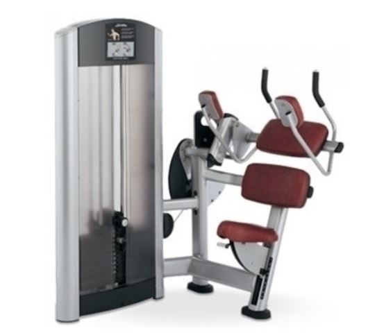 Life Fitness Signature Series Abdominal Crunch - Fitness Trendz USA