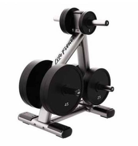 Life Fitness Signature Series Olympic Weight Tree - Fitness Trendz USA