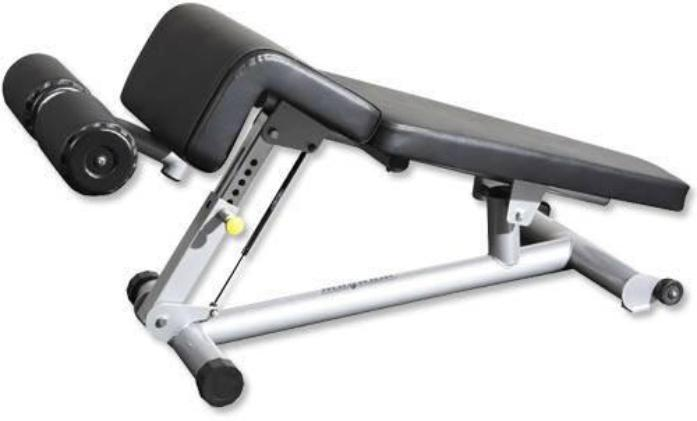 Magnum Fitness Adjustable Decline Sit Up Bench - Fitness Trendz USA