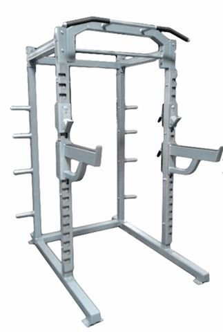 Muscle D Fitness Deluxe Half Rack - Fitness Trendz USA