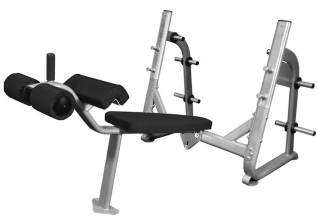 Muscle D Fitness Olympic Decline Bench Elite Series - Fitness Trendz USA