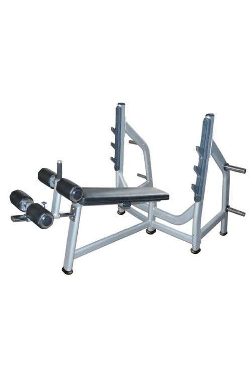 Muscle D Fitness Olympic Decline Bench - Fitness Trendz USA