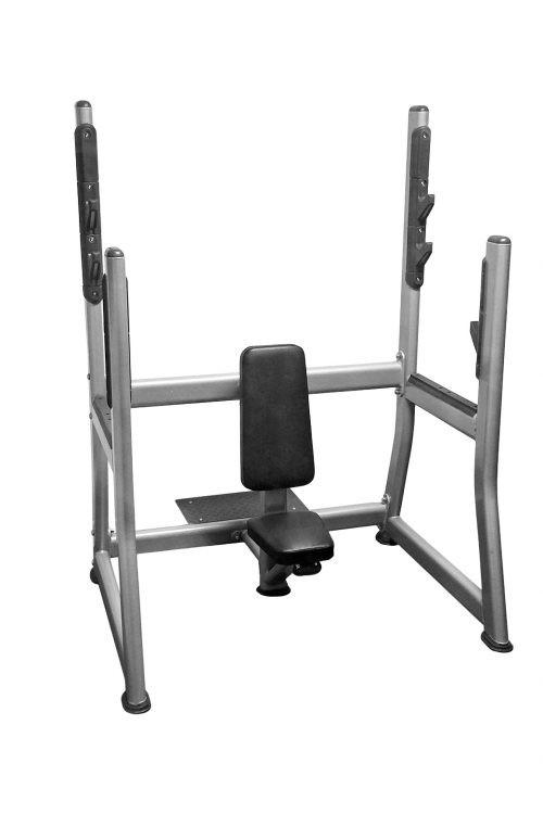 Muscle D Fitness Olympic Military Bench - Fitness Trendz USA