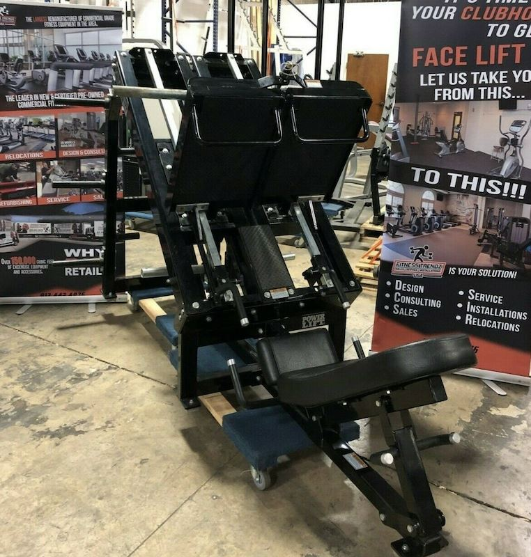 Power Lift Uni-lateral and Bi-lateral Leg Press - Fitness Trendz USA