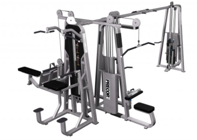 Precor Icarian Modular Multi Station 5 Stack CW2201 - Fitness Trendz USA