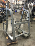 Precor Squat Rack Boxed Experience Titanium - Fitness Trendz USA