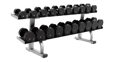 Life Fitness Signature Series Two Tier Dumbbell Rack - Fitness Trendz USA