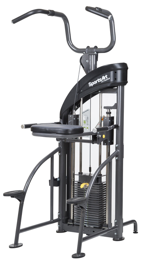 SportsArt N911 Assisted Chin-Up / Tricep Dip - Fitness Trendz USA