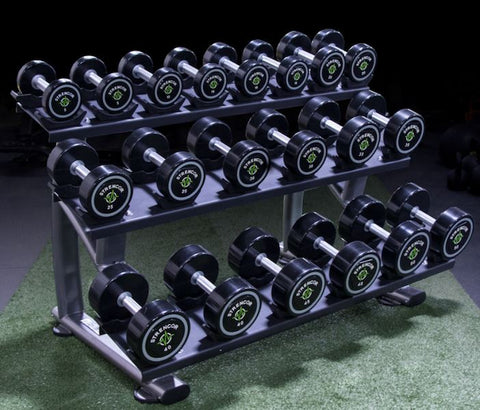 Strencor 3 Tier Dumbbell Rack with Saddles - Fitness Trendz USA
