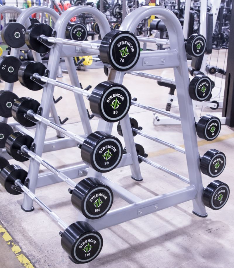 Strencor Fixed Barbell Rack - Fitness Trendz USA