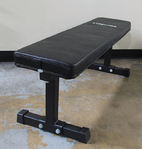 Strencor Flat Bench Bolt-Together - Fitness Trendz USA