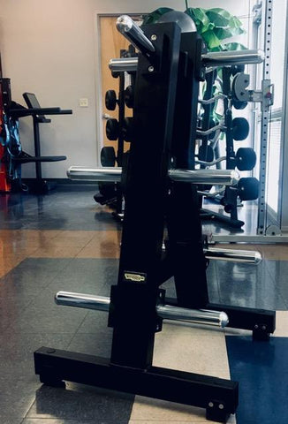 TechnoGym Pure Strength Olympic Plate Tree - Fitness Trendz USA