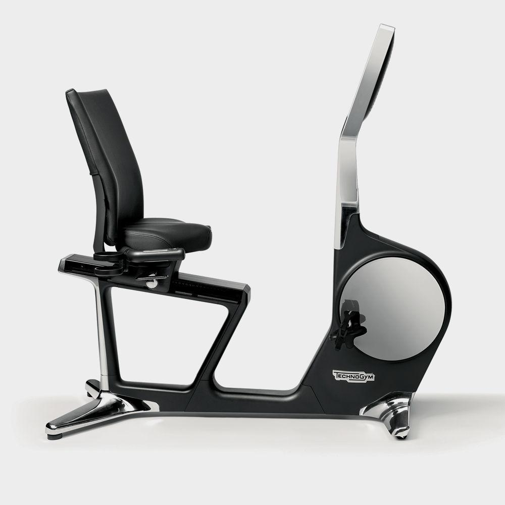 TechnoGym®  Recline Personal Recumbent Bike - Fitness Trendz USA