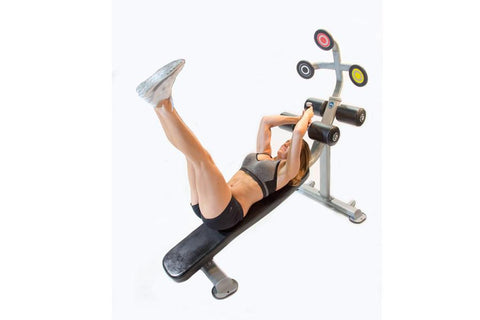 The Abs Company Target Abs - Abdominal Training Bench - Fitness Trendz USA