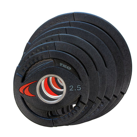 TKO Strength & Performance Olympic Urethane Plates - Fitness Trendz USA