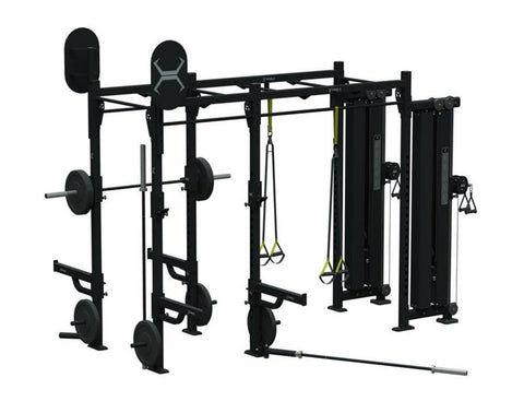 Torque Fitness 10 X 4 Monkey Bar Cable Rack – X1 Package - Fitness Trendz USA