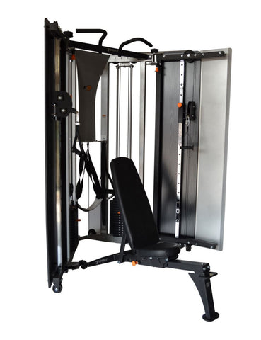 Torque Fitness F9 Fold Away Strength Trainer with Adjustable Bench - Fitness Trendz USA