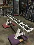 Torque Fitness M Series Single Tier Dumbbell Rack - Fitness Trendz USA
