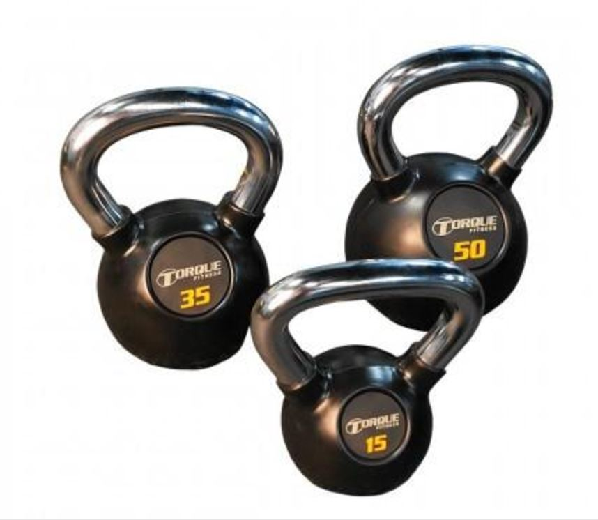 Torque Fitness Premium Kettlebell 5 to 50 lb Package - Fitness Trendz USA