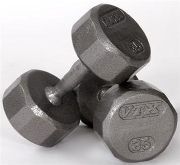 Troy Barbell & Fintess VTX USA Dumbbells 5 to 50lb Set - Fitness Trendz USA