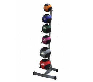Troy Barbell & Fitness VTX USA Medicine Balls with Rack Set - Fitness Trendz USA