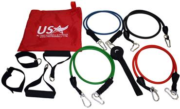 Troy Barbell & Fitness VTX USA Sports Resistance X-BAND Set - Fitness Trendz USA