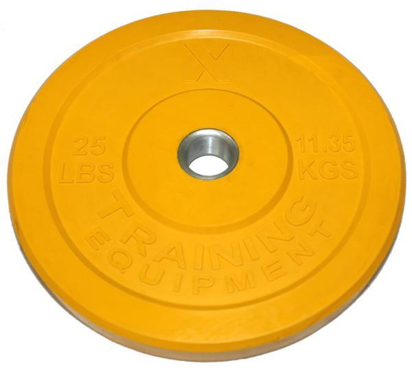 X Training Premium Color Bumper Plate Pairs - Fitness Trendz USA