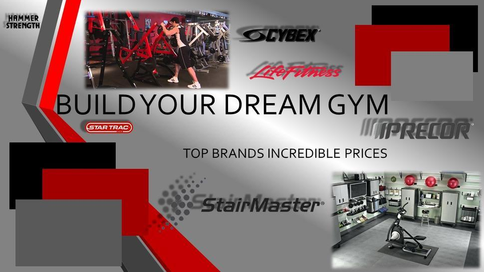 Tampa's #1 Designer Supplier of Dream Gyms