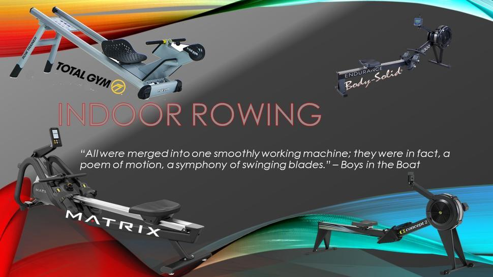 Tampa's #1 Indoor Rowing Supplier