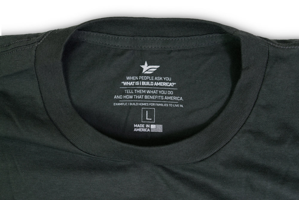 IBA Logo Cotton T-Shirt - Gray