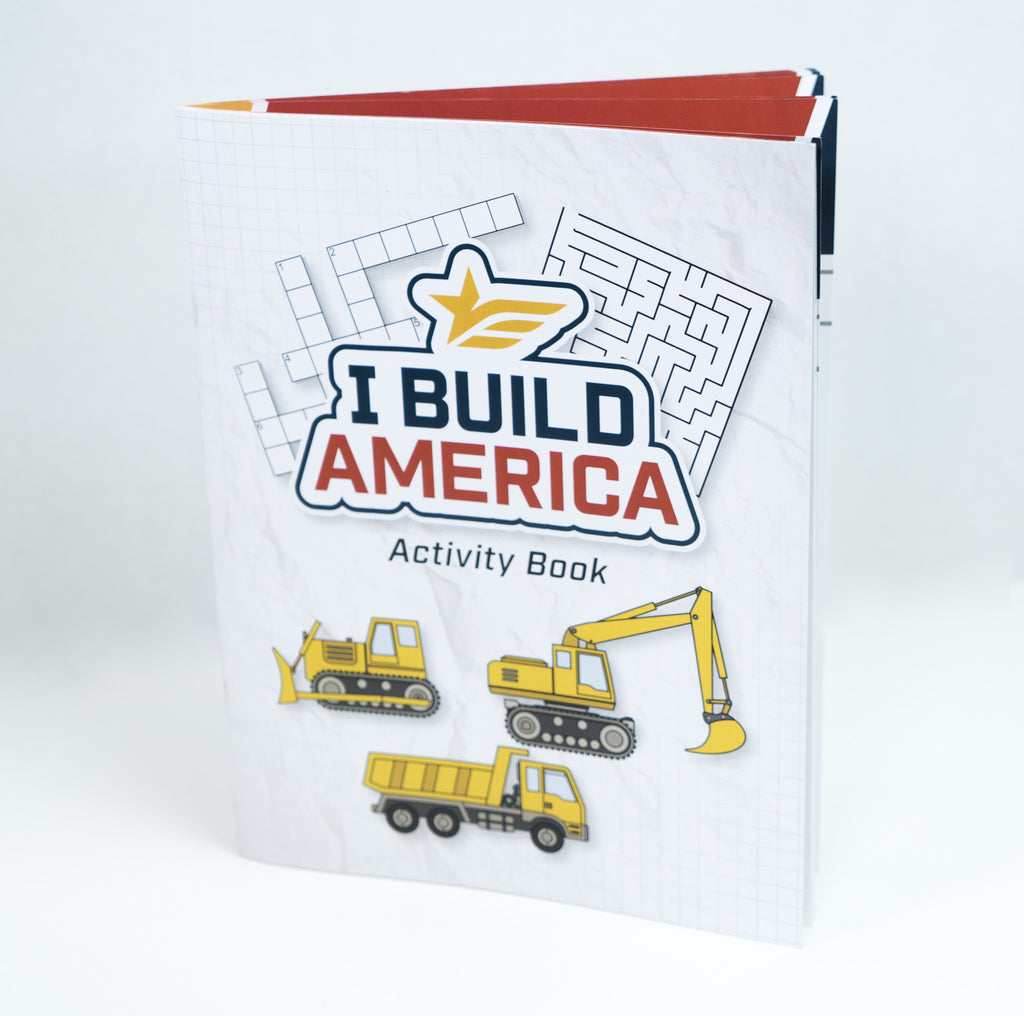 I Build America Children's Activity Book