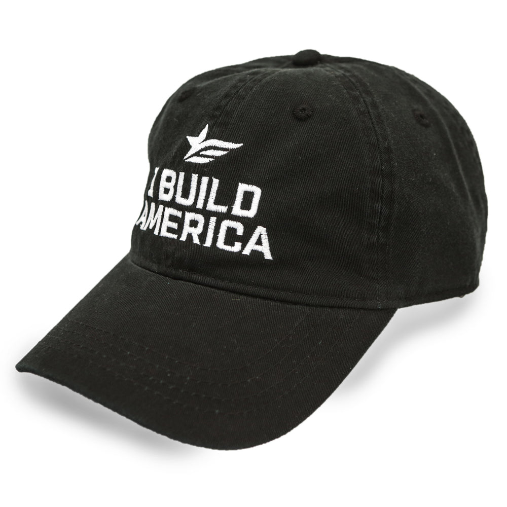 Black Twill I Build America Hat