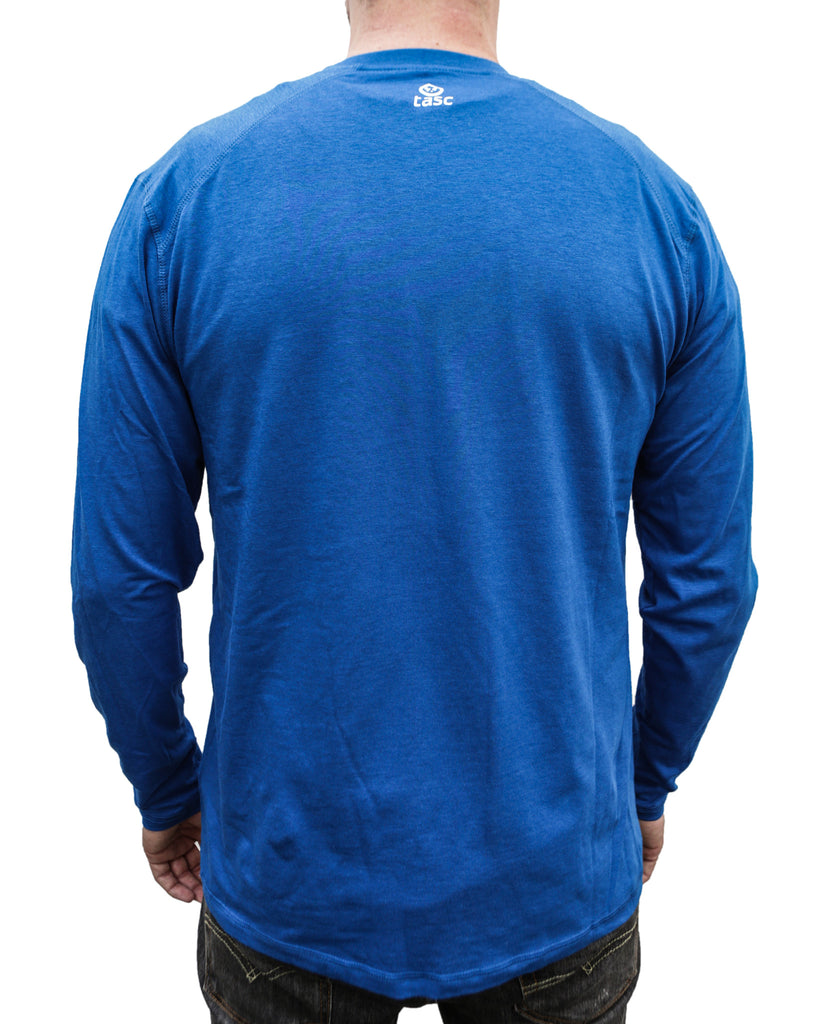 Cobalt I Build America Long-Sleeve T-Shirt