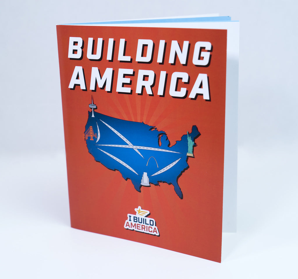 I Build America Children's Book - Building America