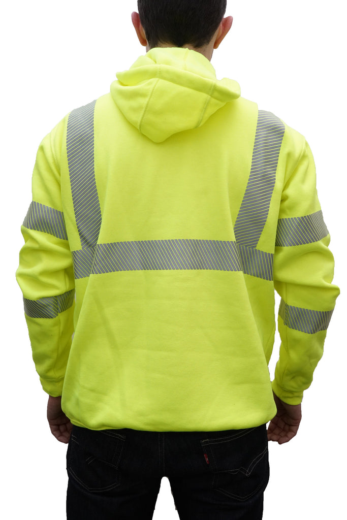 Carhartt High-Visibility Class 3 Safety Sweatshirt w/ I Build America Logo