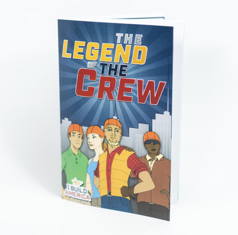 I Build America Children's Comic Book - The Legend of the Crew - 5 Pack